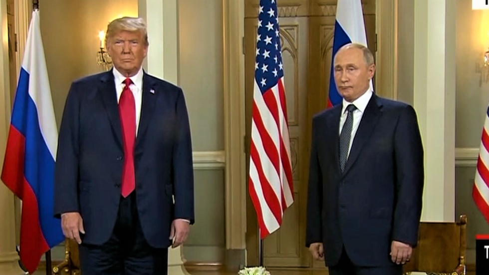 Trump lists his agenda for Putin summit -- and doesn't once mention election hacking