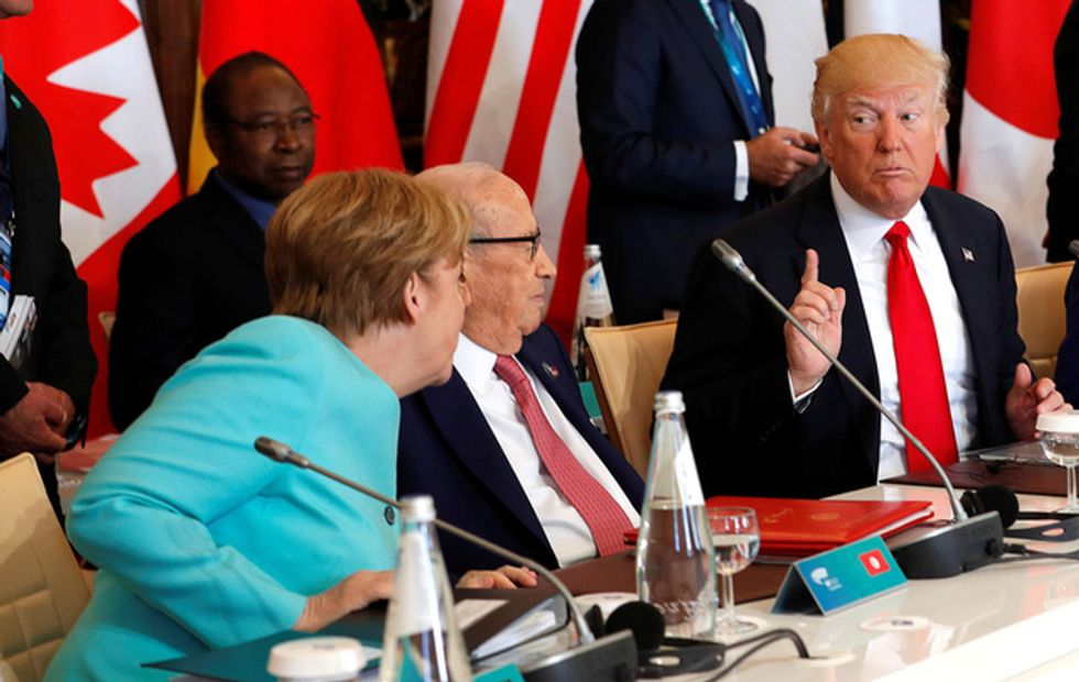 Trump tweets criticism of Germany after Merkel questioned US reliability