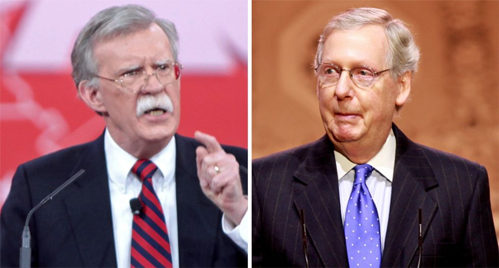 John Bolton knows which 4 GOP senators will vote to allow his testimony: Longtime colleague Nicolle Wallace