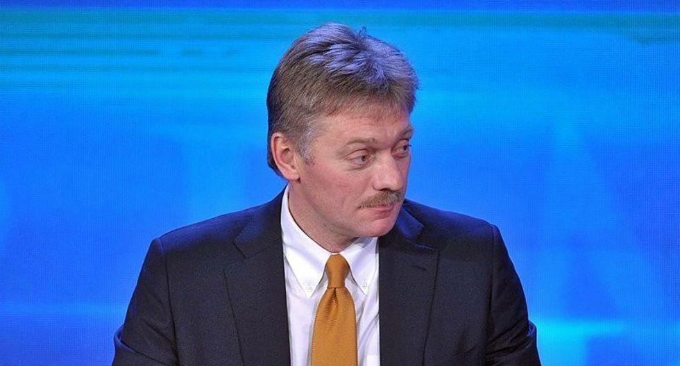 'He seemed kinda gleeful': Reporter reveals Putin's spokesman was laughing and smirking during presser