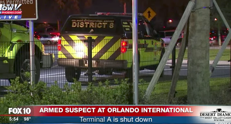 WATCH LIVE: Police responding to armed gunman at Orlando International Airport