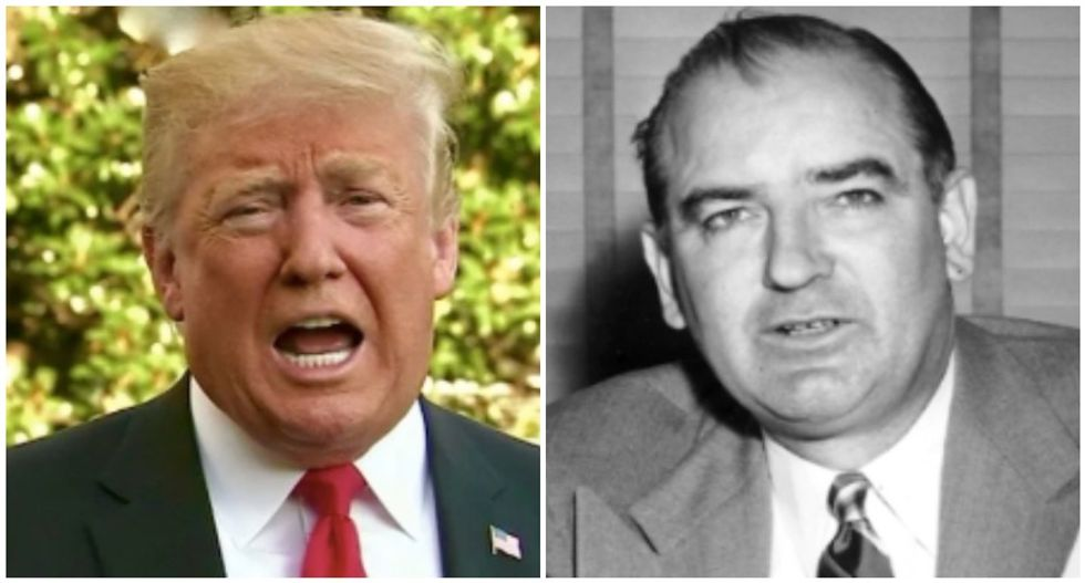 New film shows how Trump and Joseph McCarthy exploited the same media weaknesses to gain power