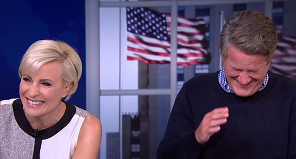 Joe Scarborough hilariously swats back RNC attack: Trump should stop obsessing over TV or 'get a new job'