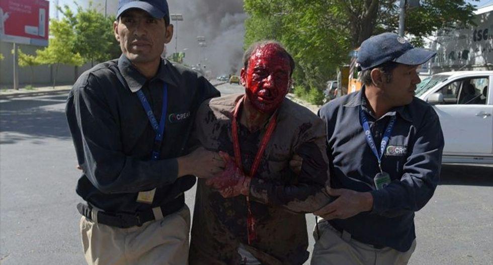 Massive Kabul truck bomb kills 64 — wounds hundreds