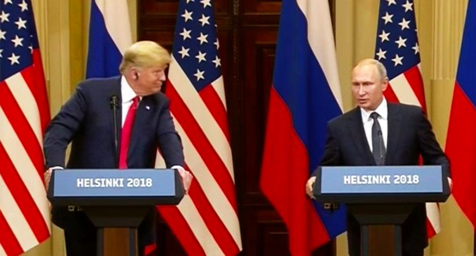 'A total F-ing disgrace -- the president's lost his mind': Sickened conservatives turned off TVs as Trump sucked up to Putin