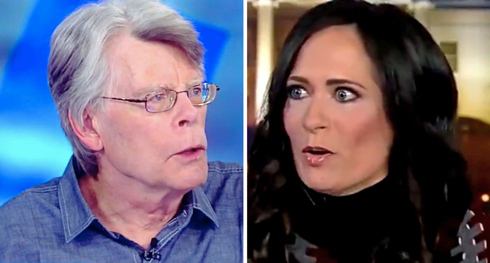 Stephen King offers $75,000 for White House press secretary Stephanie Grisham to do her job