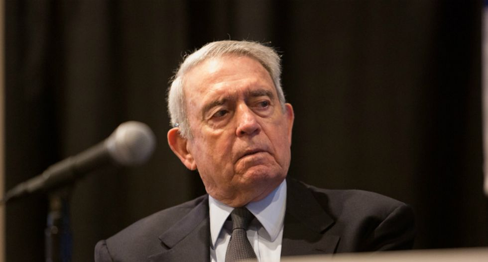Dan Rather perfectly explains why the Republican party and the NRA should be afraid of 'the wheels of change'