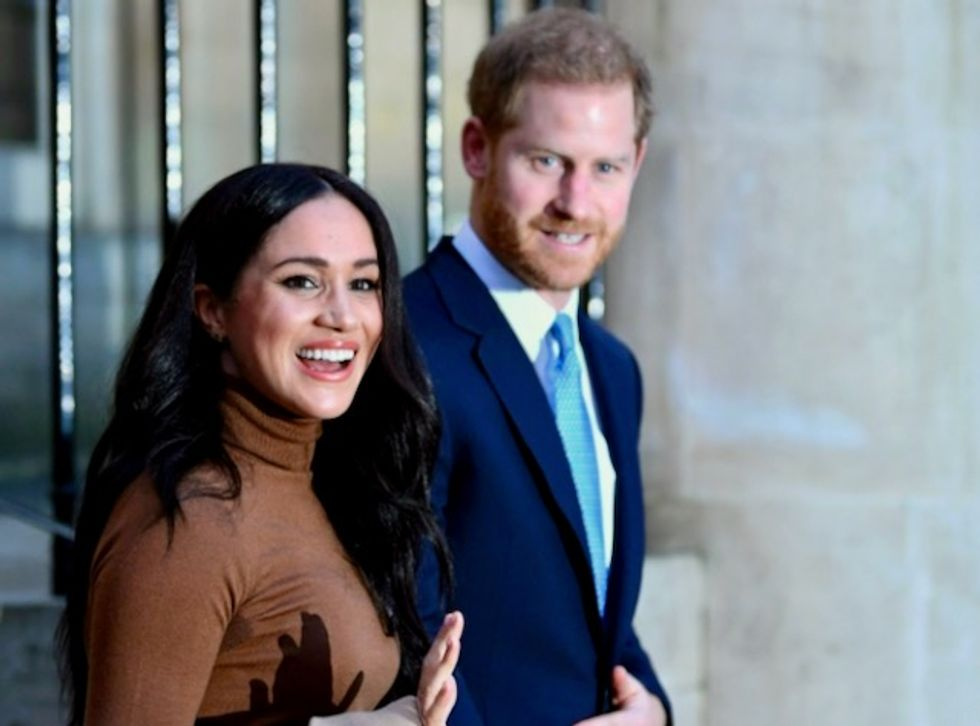 Britain's Prince Harry and Meghan to step back as 'senior' royals