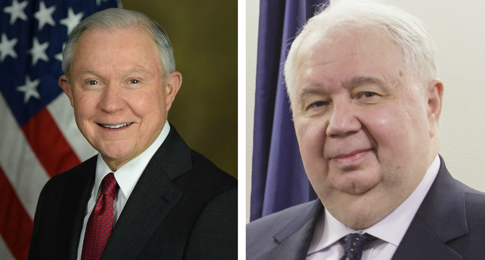 BUSTED: Jeff Sessions had third undisclosed meeting with Russian ambassador
