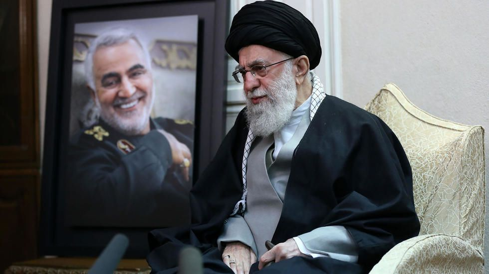 Iran's supreme leader calls missile strikes on US forces a 'slap in the face'