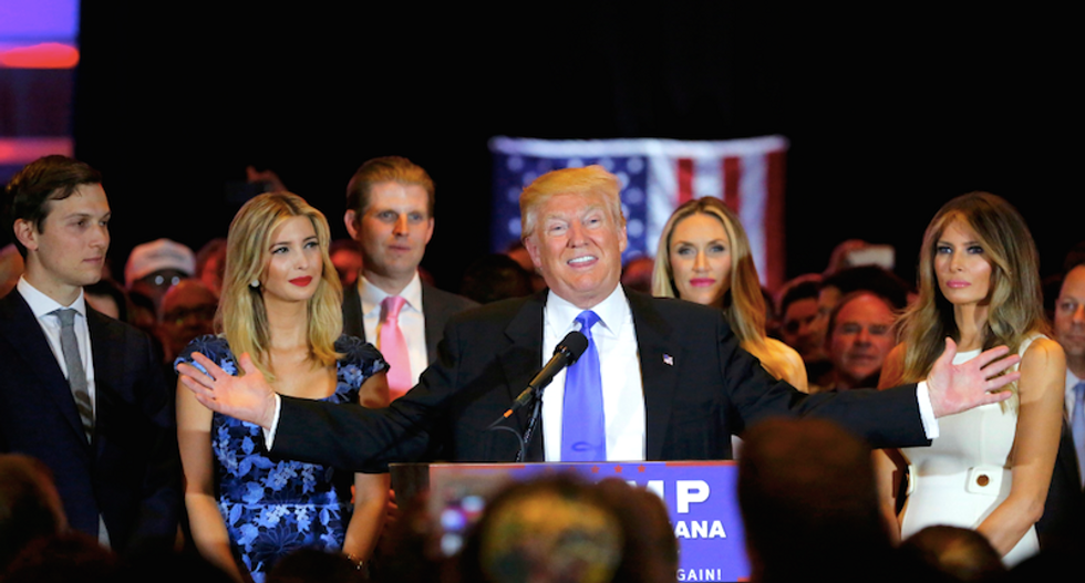 How protecting Donald Trump's family became a core principle of the Republican Party's ideology