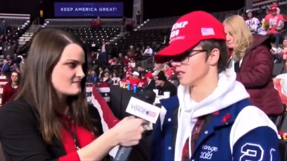 WATCH: Trump supporter hilariously stumbles when asked to name one thing the president has done well