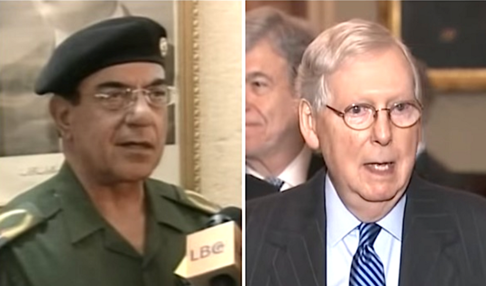 'Baghdad Bob had more concern for the appearance of neutrality than Mitch McConnell': columnist