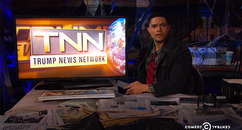 'Picture the worst thing': Trevor Noah imagines the dystopian hellscape under President Trump