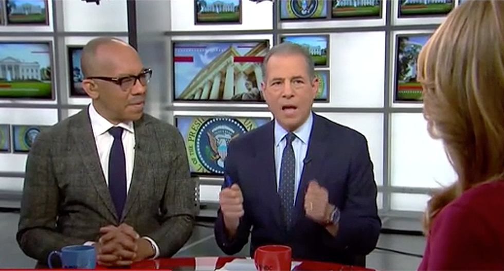 MSNBC panel laughs at BS White House talking points justifying Trump's 'hostage statement'