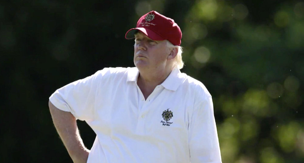Trump gets advice from golfing buddies and right-wing Twitter as America faces a 'crisis of truth': op-ed