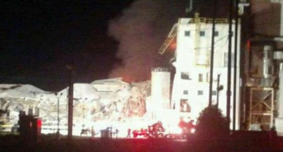 One dead, two missing, others hurt in Wisconsin corn plant explosion