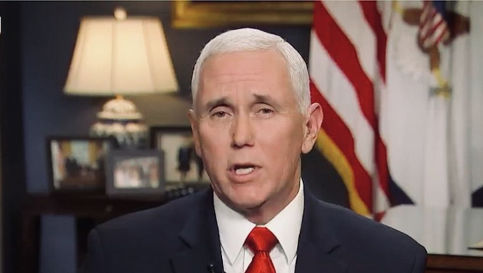 'Pence is LYING right now!' Vice president's coronavirus cleanup efforts backfire spectacularly