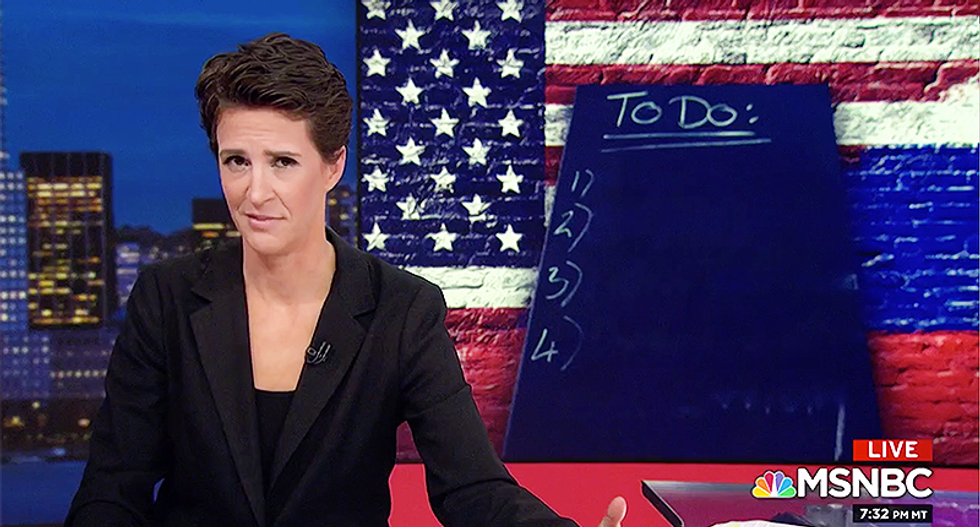 Rachel Maddow demands Congress hold hearings on these major ways Russia changed American policy through Trump