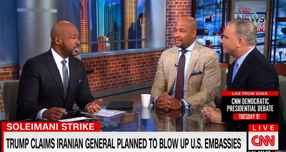 CNN's Blackwell shuts down Trump apologist trying to push 'imminent threat' talking point