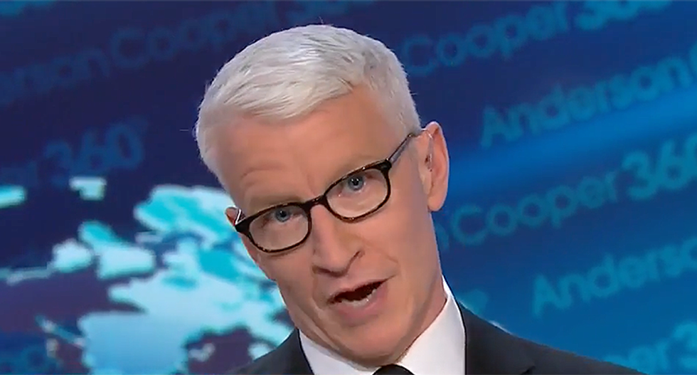 CNN's Anderson Cooper brutally mocks Trump's 'word game' definition of the border wall