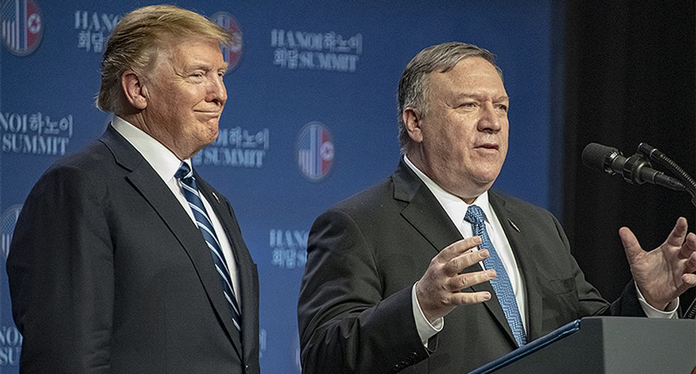 Trump and Pompeo's Taliban 'peace deal' immediately hammered by conservative as a fraud