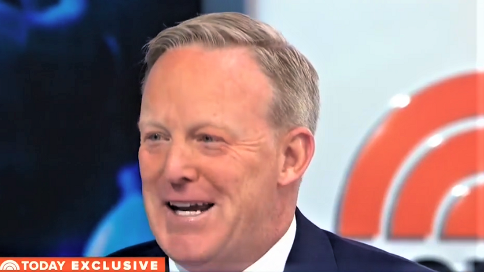 WATCH: Sean Spicer relieved after Today Show host lists 'only' three Trump lies he was forced to defend