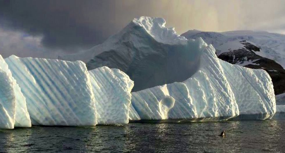 Giant iceberg poised to snap off from Antarctica as Trump considers Paris climate deal
