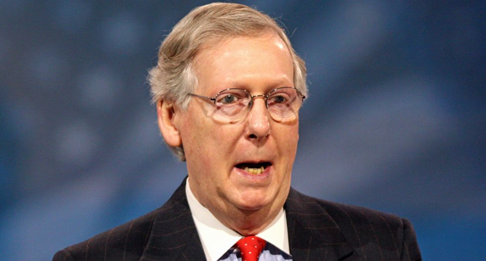 Trump 'might be dragging down' Mitch McConnell's Senate majority with him: Election forecaster