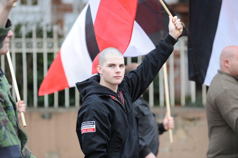Trump-loving skinhead group led by GOP official beats up black man at Pennsylvania bar: police