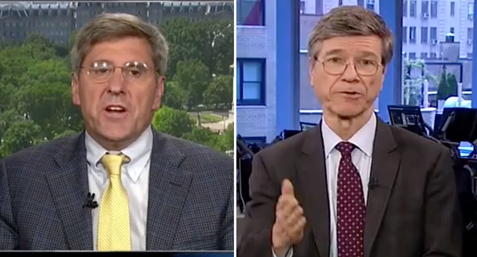 'This is corruption!': Economist goes on full attack of Trumpster Stephen Moore's ties to the Koch Brothers