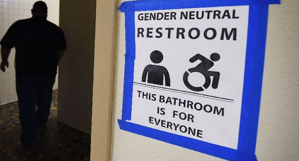 Texas to sue US government over trans-friendly bathroom policy