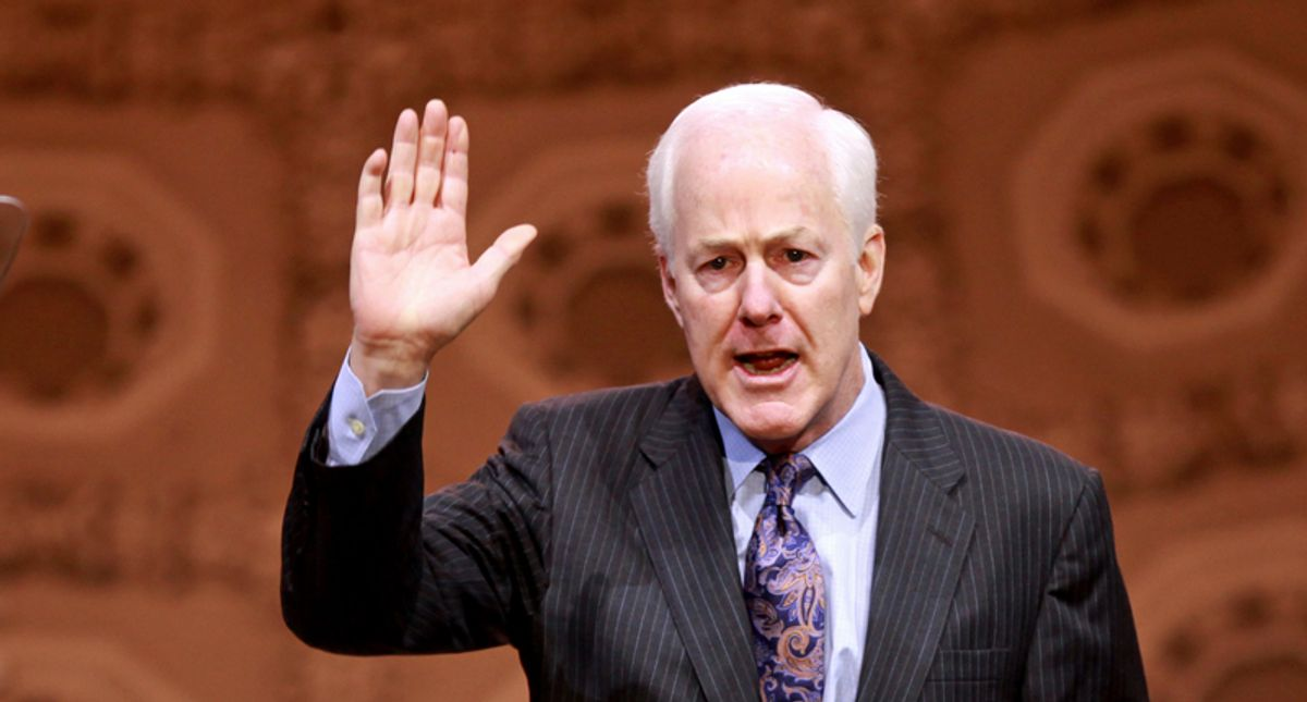 'Wait til he hears about phone books': John Cornyn mocked for accusing Lincoln Project of 'illegal doxing'