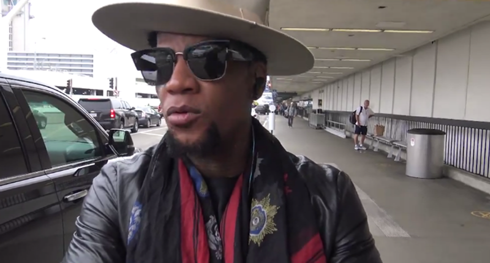 D.L. Hughley: 'If you got mad at Kathy Griffin and didn't say sh*t about Ted Nugent, you're a hypocrite'