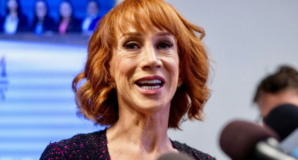 Kathy Griffin rips into Hollywood for their focus on 'white privileged old dudes'