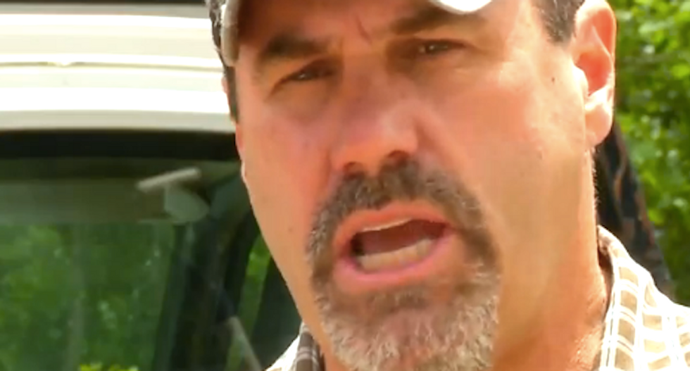 Trump-loving tow truck driver says God told him to leave disabled Bernie Sanders supporter stranded