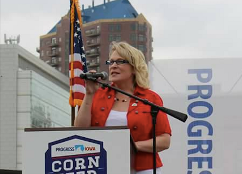 Fearing for her life, Iowa Democrat abandons race to unseat GOP Rep. Steve King