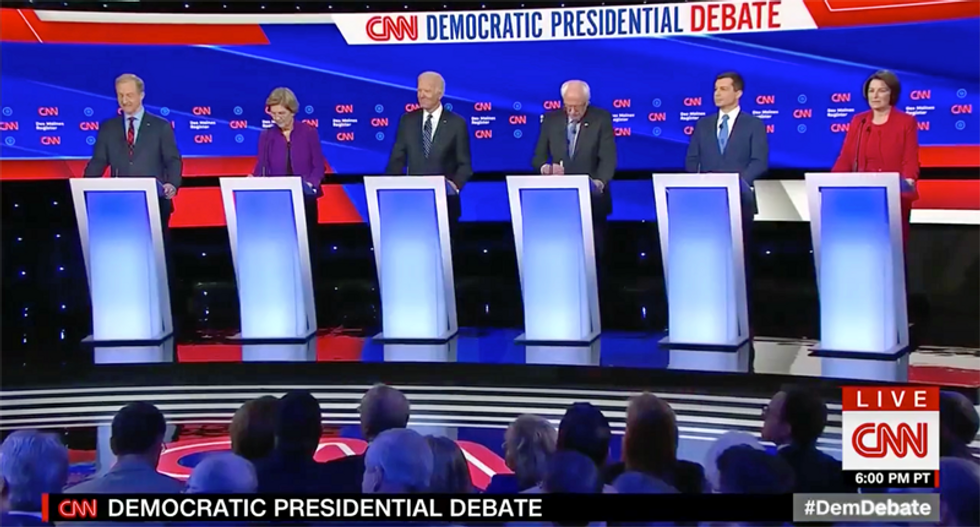 Final #DemDebate before New Hampshire's first in the nation primary held in Manchester