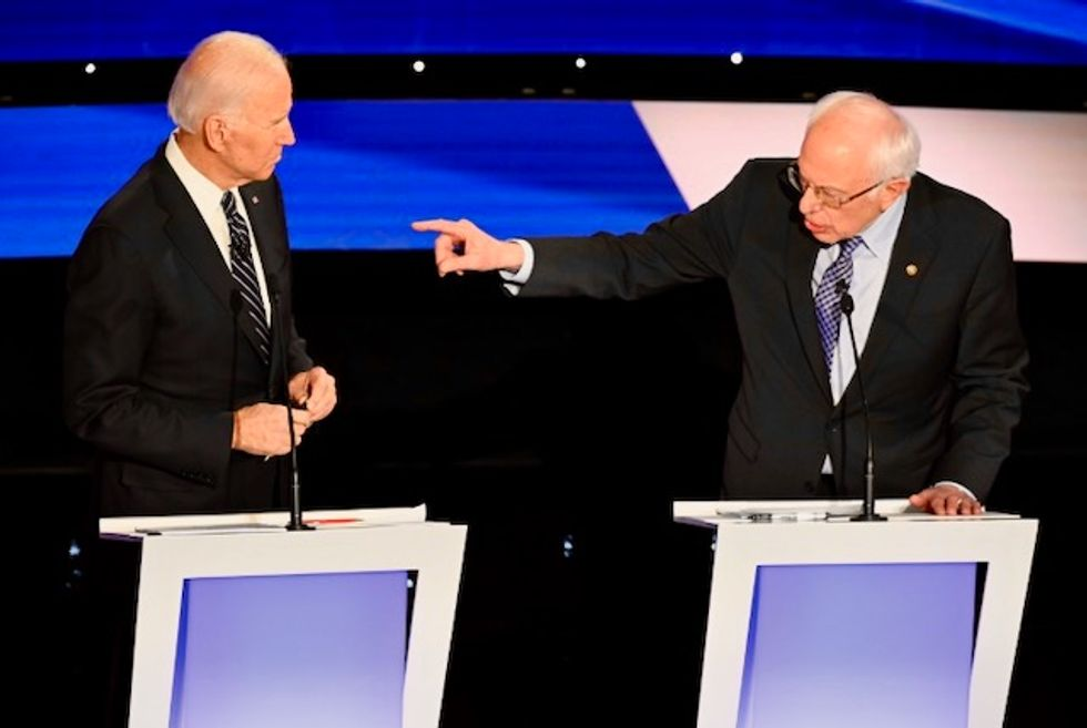 Joe Biden makes a pitch for unity following his dominant mini-Super Tuesday performance as Bernie Sanders faces calls for exit