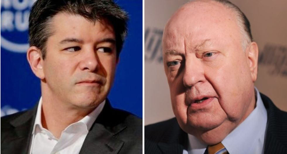 Scandals at Uber and Fox show dangers of letting macho cultures run wild