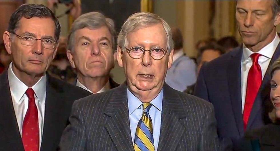 Internet attacks #MidnightMitch for Republican impeachment sham: 'A massive middle finger to every American'