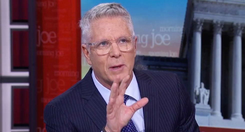 MSNBC's Donny Deutsch compares Trump to Hitler: 'Let's just say it once and for all'