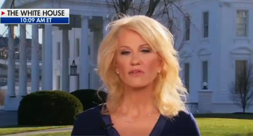 Kellyanne Conway buried for disastrous Fox News Parnas interview: 'She sounded like a moron'