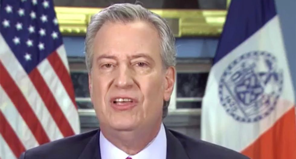 NYC Mayor de Blasio goes scorched earth on Trump on CNN: 'He should kiss his re-election goodbye'