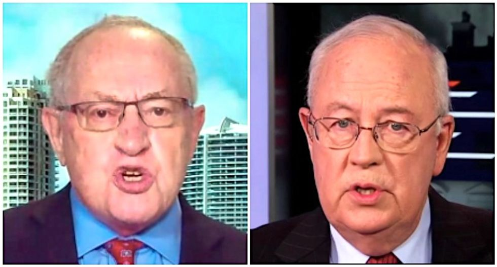 Dershowitz and Ken Starr are carrying a lot of baggage and personal conflicts into Trump's trial: report