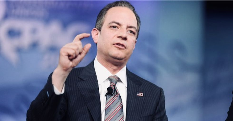 Watch: Reince Priebus reveals Trump's impeachment defense will be 'so what?'