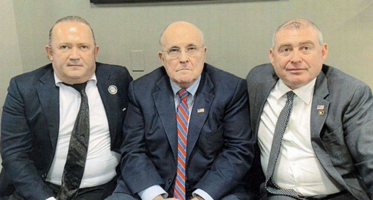 Indicted Giuliani associates hit with SEC complaint