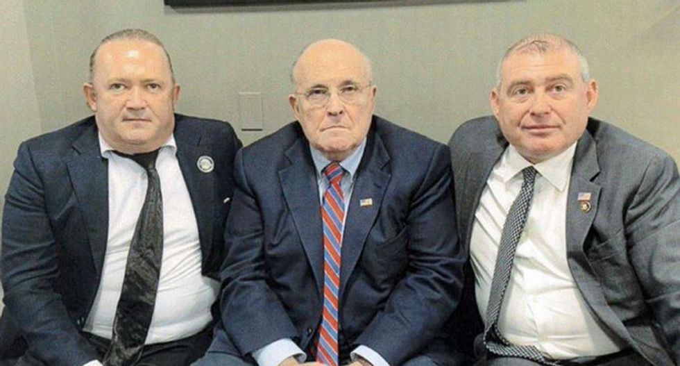 Giuliani henchman charged with conspiring to defraud investors with fake insurance company 'Fraud Guarantee'