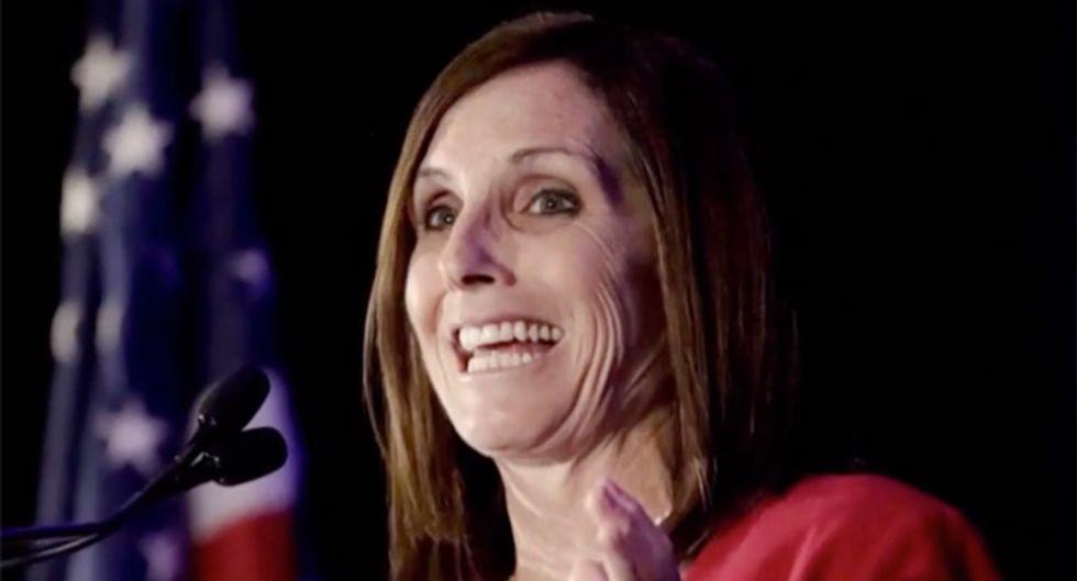 'Asymmetric people are spreading this virus': GOP's Martha McSally bungles blame for COVID-19 on Fox News