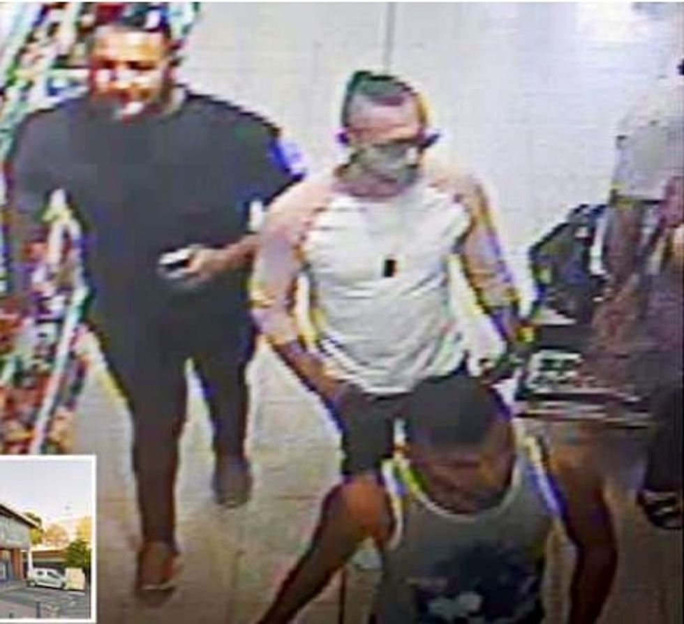 Three men arrested over acid attack on three-year-old British boy